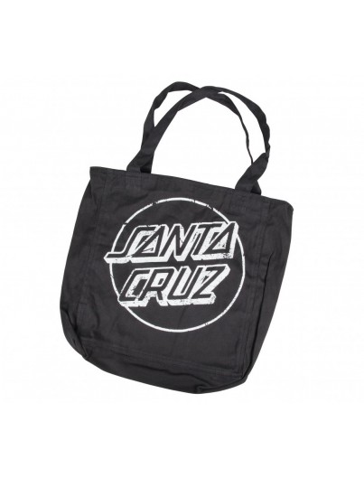 Santa Cruz Tote Stamp Dot backpack zwart