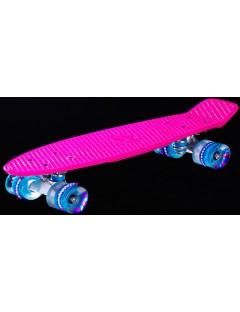 Awaii Vintage 22'' Penny Board LED Roze