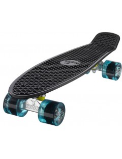 Ridge Siltk 22'' Penny Board Zwart-Clear Blue