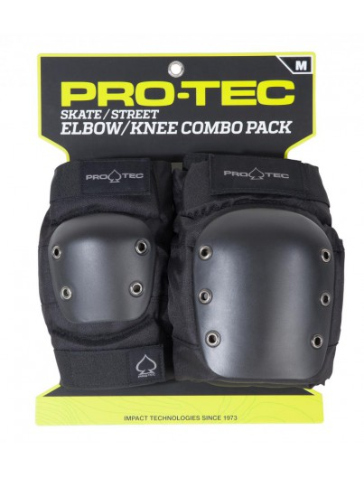 Pro-Tec Street Gear Adult Knie- Elleboog Bescherming