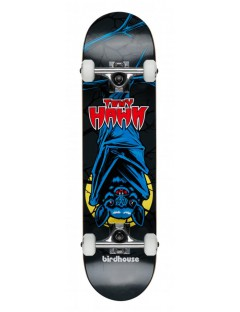 Birdhouse Stg 1 Bat Black 7.375 Mini Skateboard
