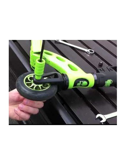 Madd Gear extreme scooter pegs groen