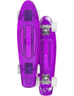Choke Juicy Susi 22'' LED Penny Board Paars