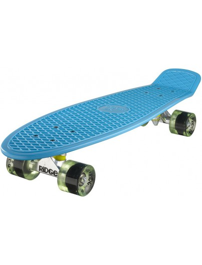 Ridge 27'' Penny Board Blue-Clear Green