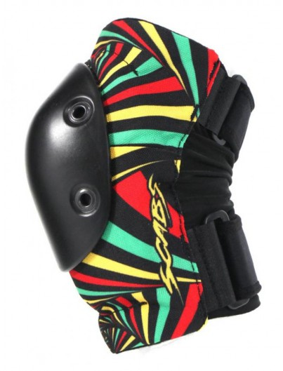 Smith Scabs Elite Elleboogbescherming Hypno Rasta S/M Adult