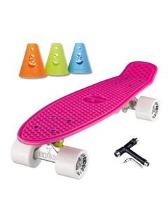 Skate Pack Cruiser Roze-Wit