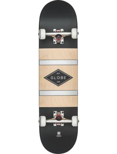 Globe G2 Diablo 8.0 Skateboard Black Silver