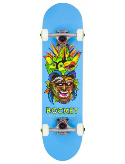 Rocket Mask Tribal 7.5 Mini Skateboard