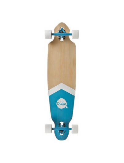 Choke 38.0 Dropthrough Longboard Blue