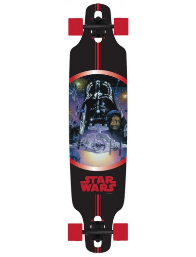 Choke x Star Wars Vader 38'' Dropthrough Longboard