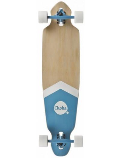 Choke 38.0 Dropthrough Longboard Blue