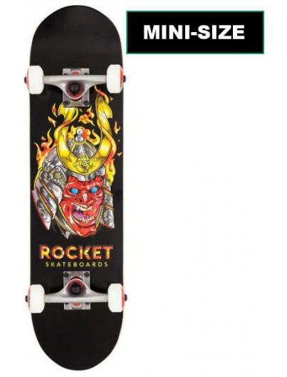Rocket Mask Samurai 7.5 Mini Skateboard
