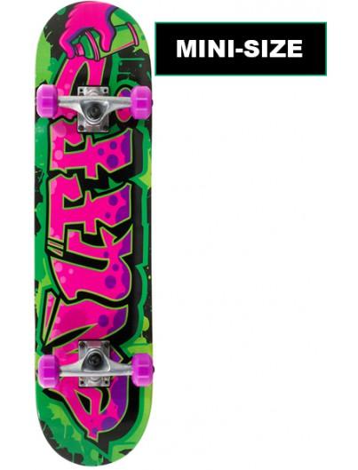 Enuff Graffiti 7.25 Mini Skateboard Paars-Groen